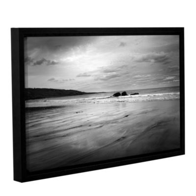 Brushstone Two Rocks Gallery Wrapped Floater-Framed Canvas Wall Art