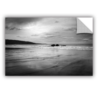 Brushstone Two Rocks Removable Wall Decal