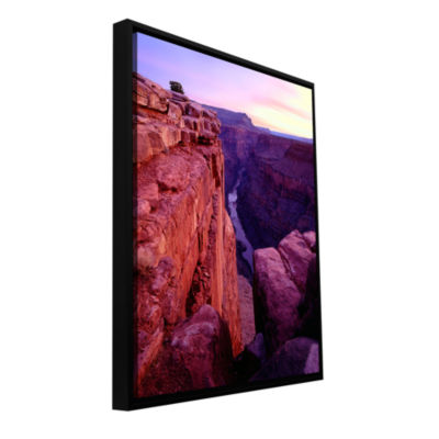 Brushstone Tuweep Overlook Gallery Wrapped Floater-Framed Canvas