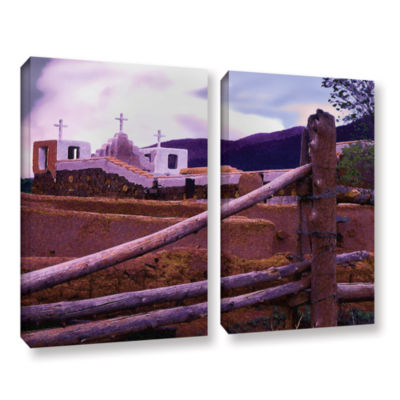 Brushstone Twilight Taos 2-pc. Gallery Wrapped Canvas Wall Art