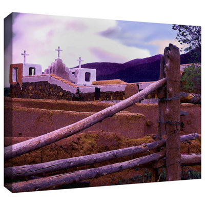 Brushstone Twilight Taos Gallery Wrapped Canvas Wall Art