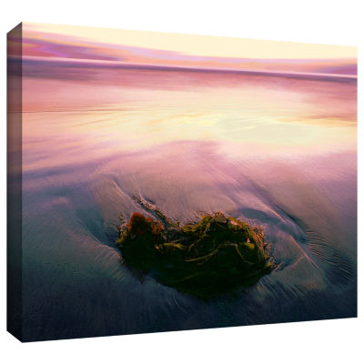 Brushstone Twilight Kelp Gallery Wrapped Canvas