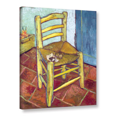 Brushstone Vincent's Chair Gallery Wrapped Canvas
