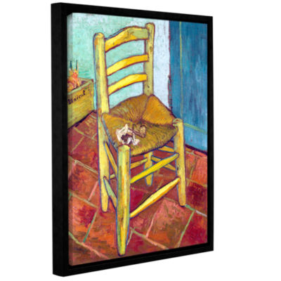 Brushstone Vincent's Chair Gallery Wrapped Floater-Framed Canvas