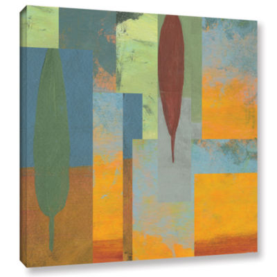 Brushstone Tuscany Square I Gallery Wrapped Canvas