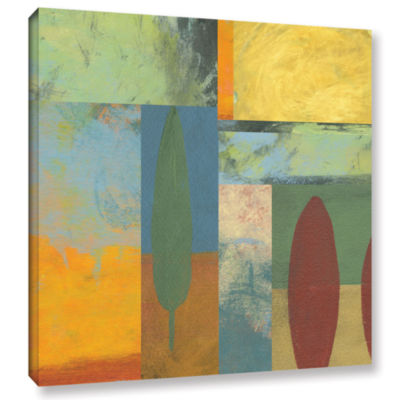 Brushstone Tuscany Square II Gallery Wrapped Canvas Wall Art