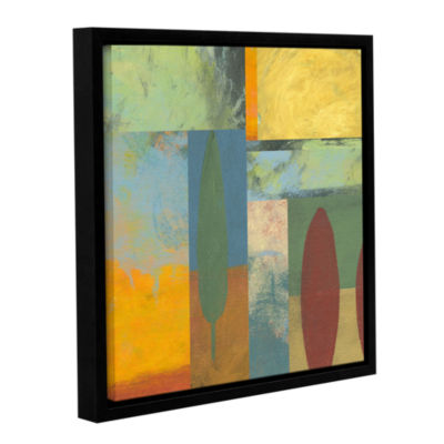 Brushstone Tuscany Square II Gallery Wrapped Floater-Framed Canvas