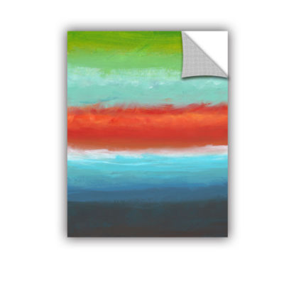 Brushstone Vibrant Horizon I Removable Wall Decal