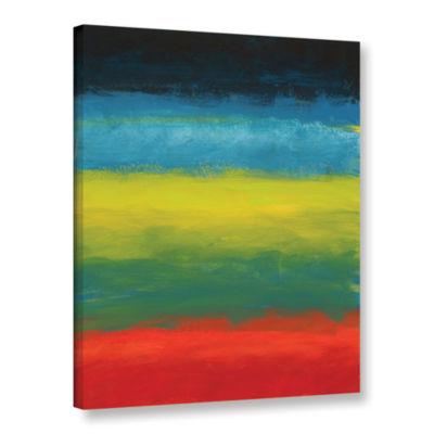Brushstone Vibrant Horizon II Gallery Wrapped Canvas Wall Art