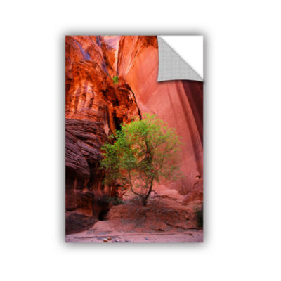 Brushstone Utah-Green Tree Red Canyon Removable Wall Decal