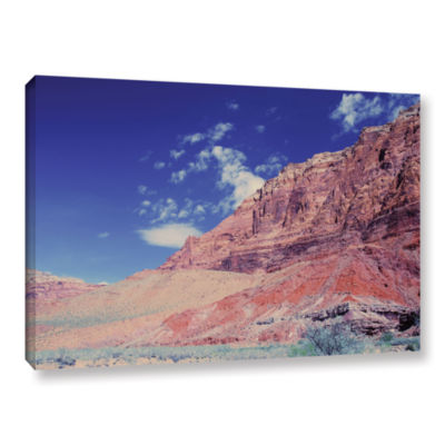 Brushstone Utah-Paria Canyon Gallery Wrapped Canvas Wall Art
