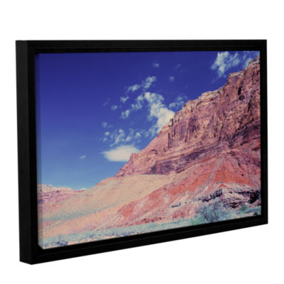 Brushstone Utah-Paria Canyon Gallery Wrapped Floater-Framed Canvas