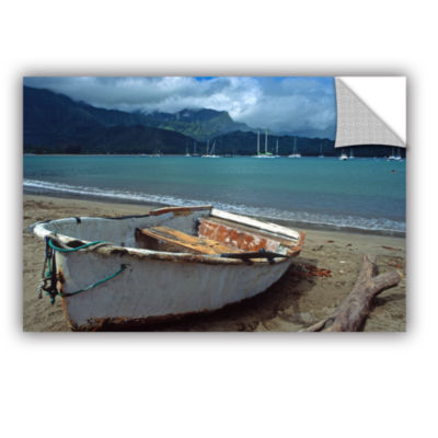 Brushstone Waiting To Row In Hanalei Bay RemovableWall Decal