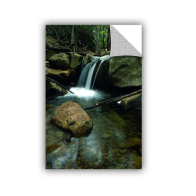 Brushstone Waterfall in the Woods Removable Wall Decal