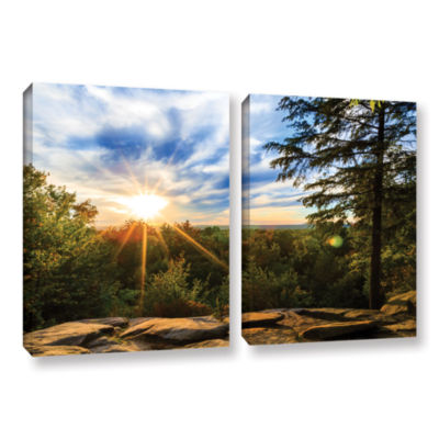 Brushstone Virginia Kendall 2 2-pc. Gallery Wrapped Canvas Wall Art