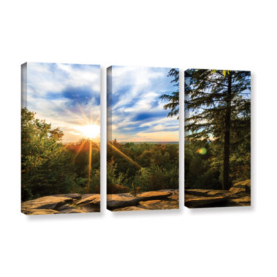 Brushstone virginia Kendall 2 3-pc. Gallery Wrapped Canvas Set