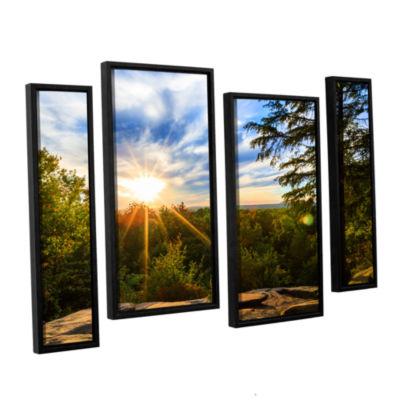 Brushstone Virginia Kendall 2 4-pc. Floater FramedStaggered Canvas Wall Art