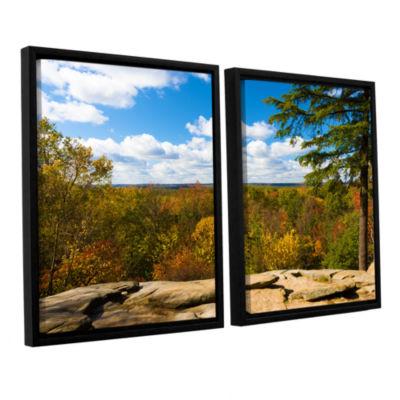 Brushstone Virginia Kendall 2-pc. Floater Framed Canvas Set