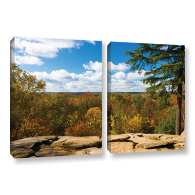 Brushstone Virginia Kendall 2-pc. Gallery WrappedCanvas Wall Art