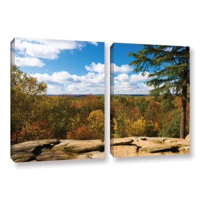 Brushstone Virginia Kendall 2-pc. Gallery WrappedCanvas Set