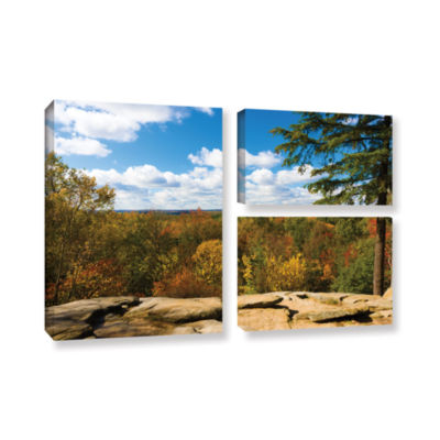 Brushstone Virginia Kendall 3-pc. Gallery Wrapped Canvas Flag Set