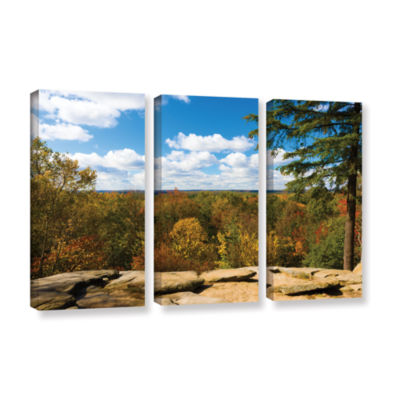 Brushstone Virginia Kendall 3-pc. Gallery WrappedCanvas Set