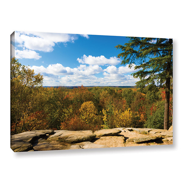 Brushstone Virginia Kendall Gallery Wrapped CanvasWall Art