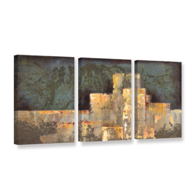 Brushstone Urban Renewal II 3-pc. Gallery WrappedCanvas Set
