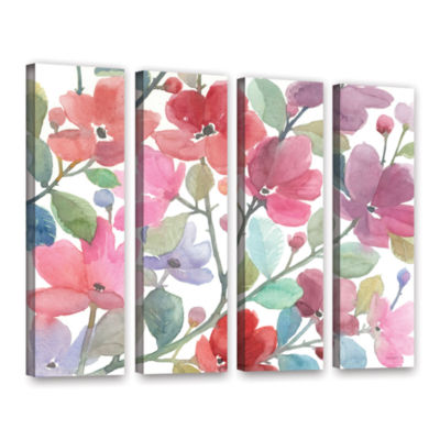 Brushstone The Colors Of Spring 4-pc. Gallery Wrapped Canvas Wall Art