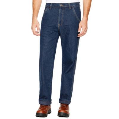 Smith Workwear Thermal Lined Carpenter Denim  Pant