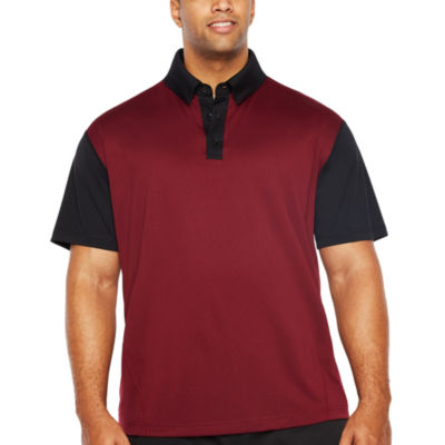 Msx By Michael Strahan Short Sleeve Jersey Polo Shirt Big and Tall