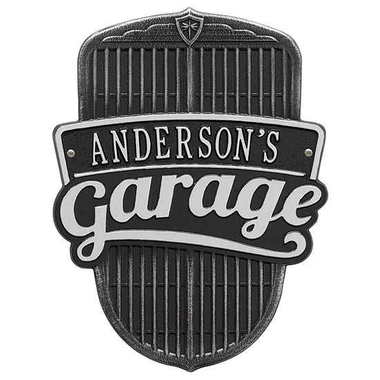 Whitehall Car Grille Garage Plaque - Standard WallOne Line