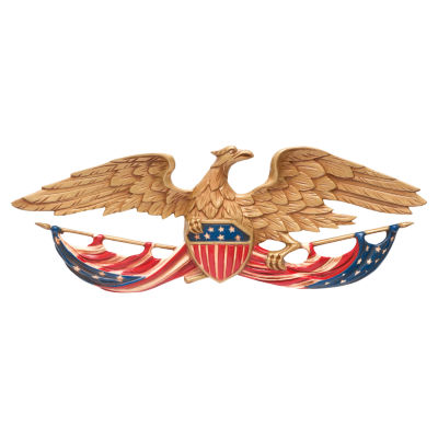 "Whitehall 24""  Patriotic Wall Eagle"""