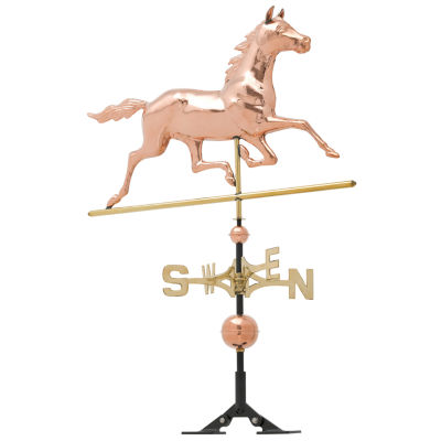 Whitehall Copper Horse Weathervane