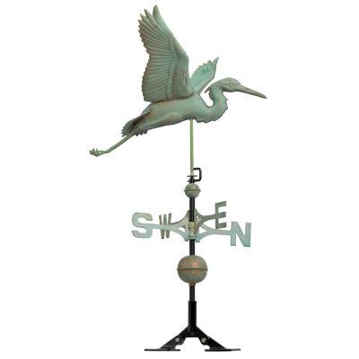 Whitehall Copper Heron Weathervane