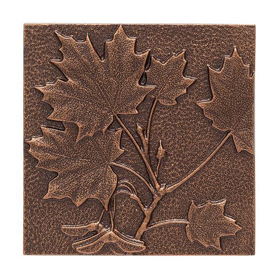 Whitehall Aluminum Maple Leaf Wall Décor