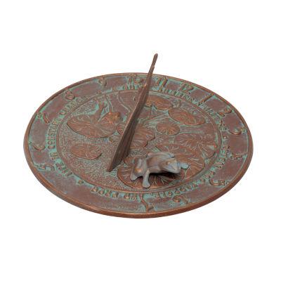 Whitehall Frog Sundial