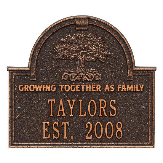 Whitehall Family Tree Anniversary Wedding Personalized Plaque
