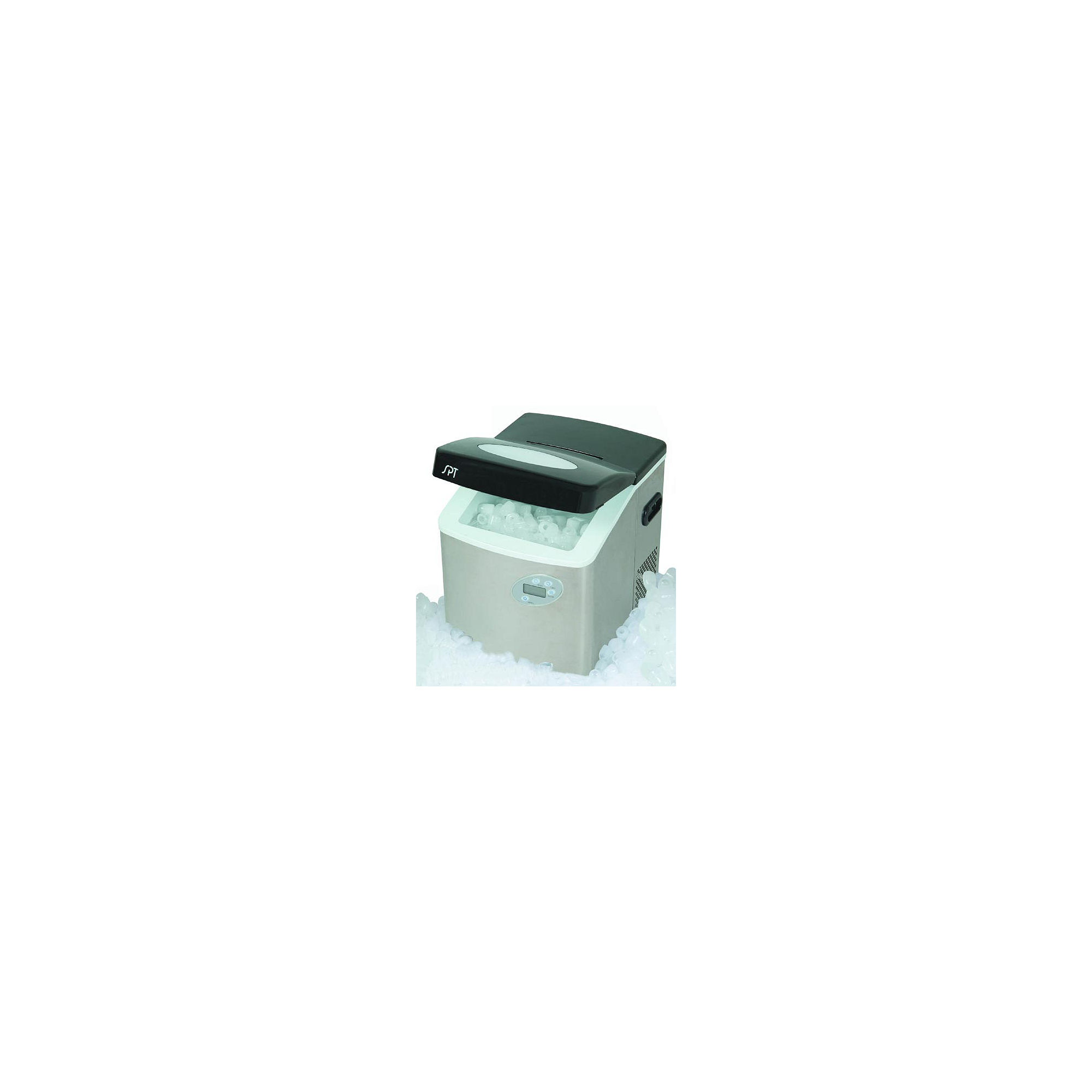 SPT IM-101S: Stainless Steel Portable Ice Maker with Digital Controls
