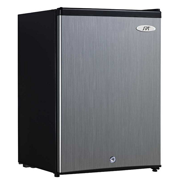 SPT UF-214SS: 2.1 cu.ft. Upright Freezer in Stainless- Energy Star