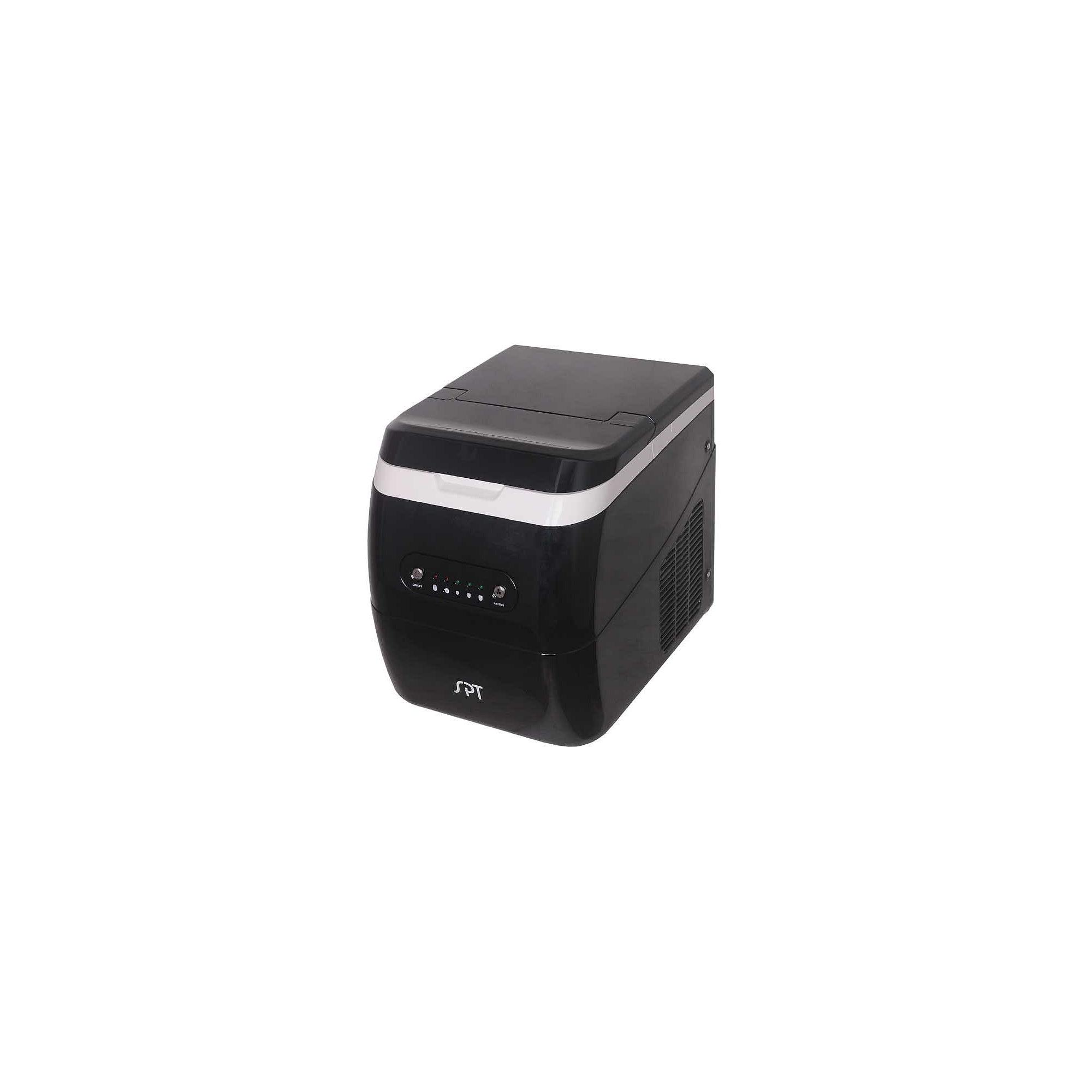 SPT IM-123B: Portable Ice Maker - Black
