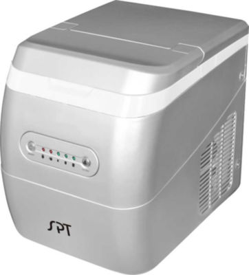 SPT IM-123S: Portable Ice Maker - Silver