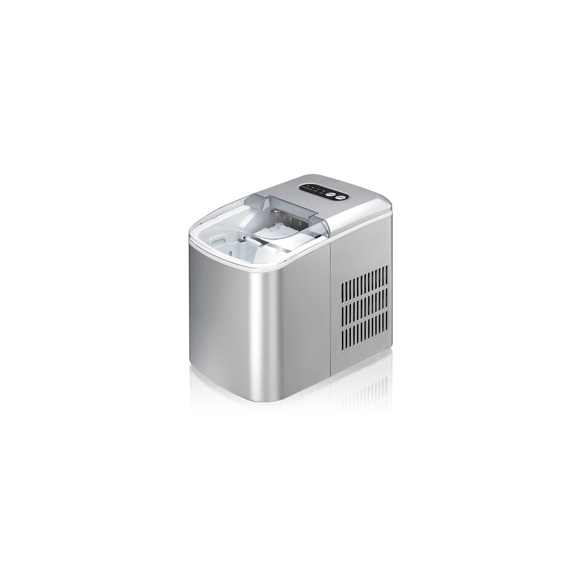 SPT IM-124S: Portable Ice Maker - Silver