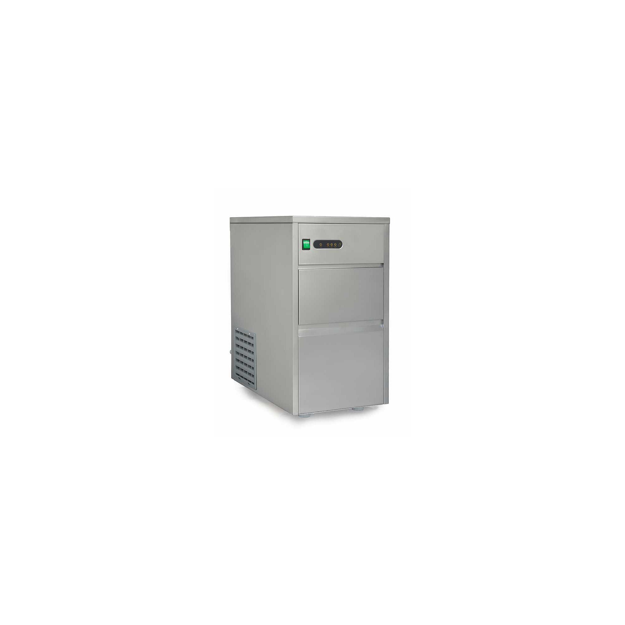 SPT IM-440C: 44 lbs Automatic Stainless Steel Ice Maker