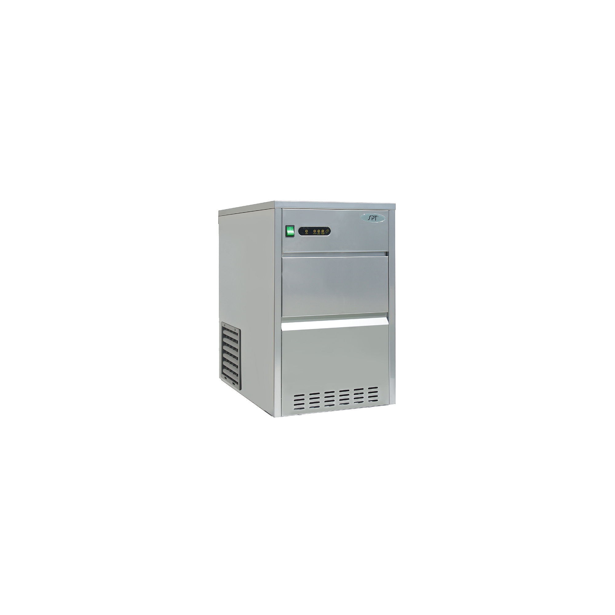 SPT IM-661C: 66 lbs Automatic Stainless Steel Ice Maker