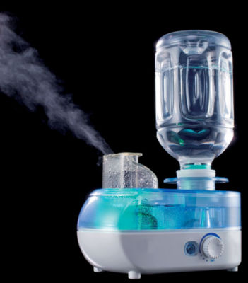 SPT SU-1052: Personal Humidifier with ION