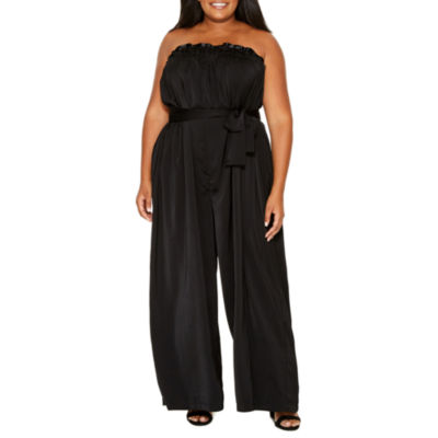 Tracee Ellis Ross for JCP Joy Of Life Strapless Jumpsuit - Plus