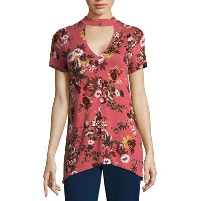A.N.A Short Sleeve Knit Blouse - Tall
