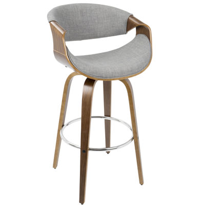 Curvini Mid-Century Modern Counter Stool by LumiSource