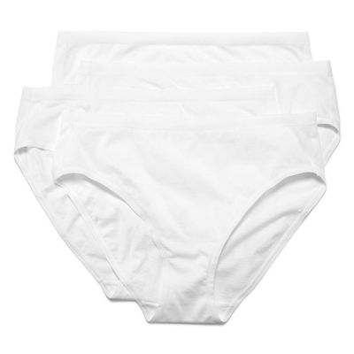 Underscore Modern Cotton 4 Pack Knit High Cut Panty